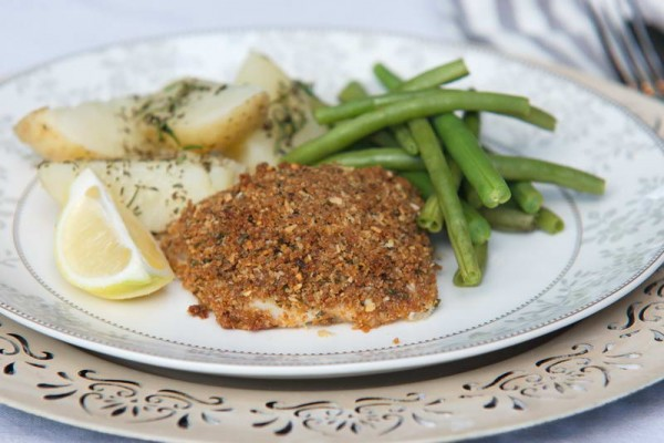 Parmesan crumbed baked fish weekly meal plans for Baked parmesan fish